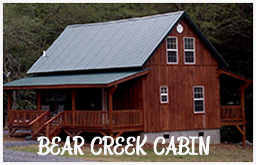Virginia Mountain Cabin Rentals   Bear Creek Cabin